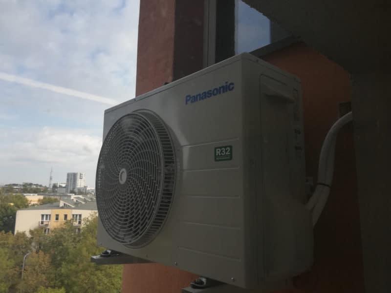 Klimatyzator - jednostka zewnętrzna firmy Panasonic