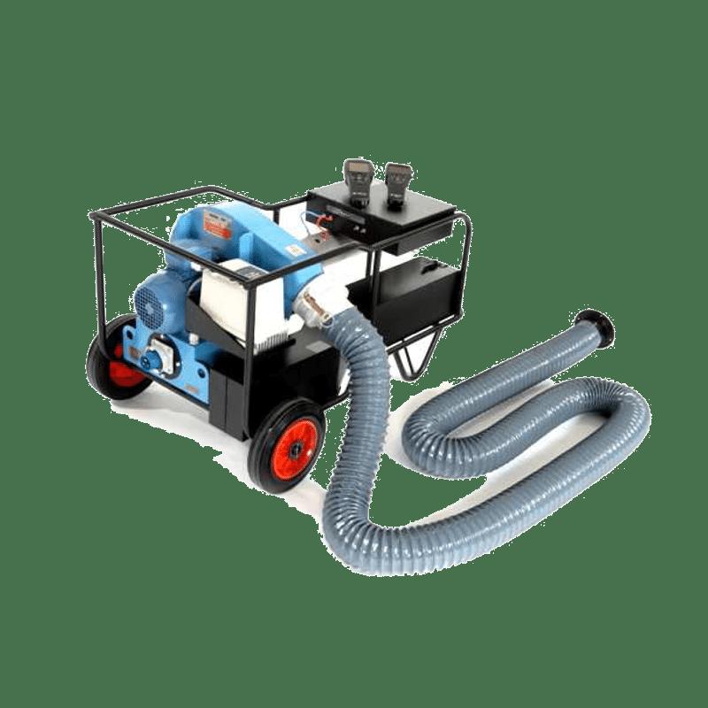 Urządzenie do mierzenia szczelności kanałów wentylacji